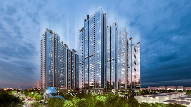 Phối cảnh Sunshine City Sài Gòn tại quận 7